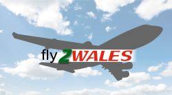 Fly 2 Wales logo